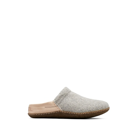 Sorel Nakiska Scuff Slippers - Quarry  - Click to view a larger image