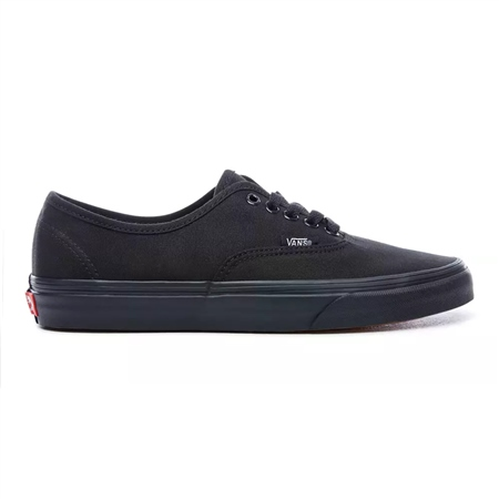 Vans Authentic Shoes  - Black & Black  - Click to view a larger image