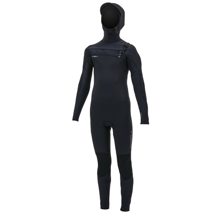 O'Neill Boys Hyperfreak HD 5/4mm Wetsuit - Black  - Click to view a larger image