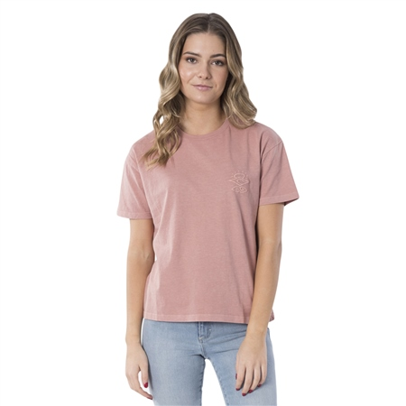 Rip Curl The Searchers T-Shirt - Rose  - Click to view a larger image