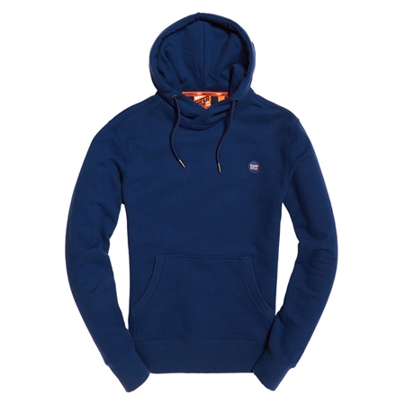 Superdry Collective Hoody - Downhill Blue