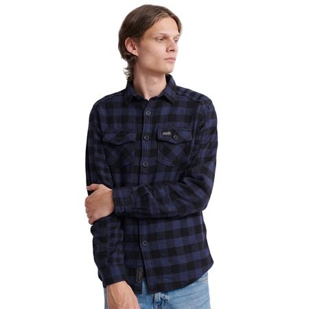 Superdry Buffalo Shirt - Blue