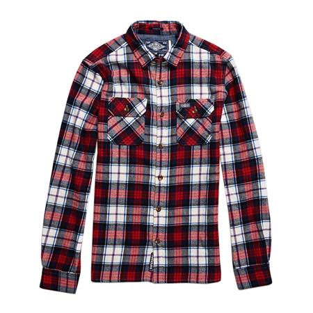 Superdry Lumberjack Shirt - White