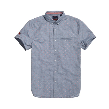 Superdry University Jet Shirt - Blue