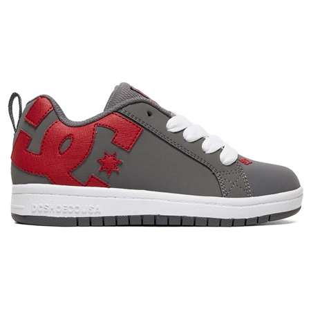 DC Shoes Court Graf Shoes - Grey & Red