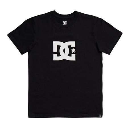 DC Shoes Boys Star T-Shirt - Black & White