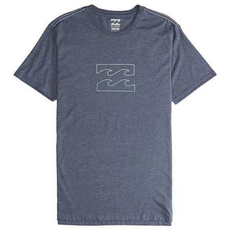 Billabong Wave T-Shirt - Navy  - Click to view a larger image