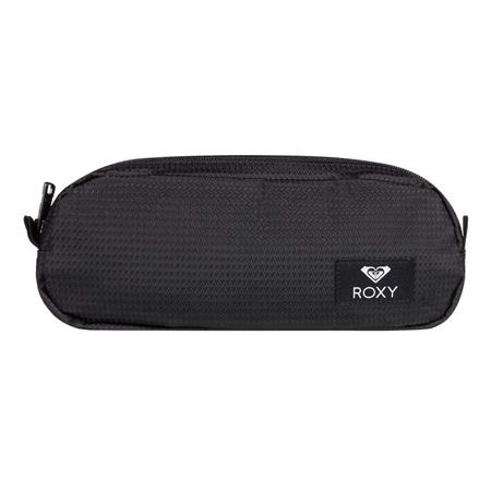 Roxy Da Rock Text Pencil Case - Anthracite