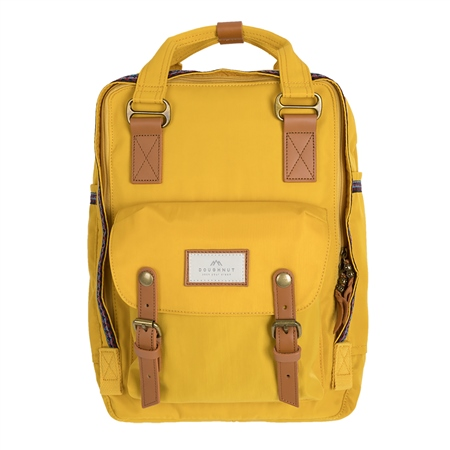 Doughnut Macaroon 16L Backpack - Mustard  - Click to view a larger image