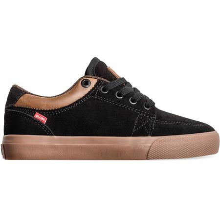 Globe GS Kids Shoes - Black Suede & Gum