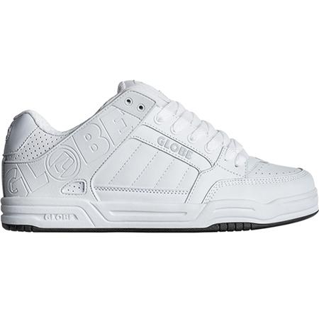 Globe Tilt Shoes - White & White