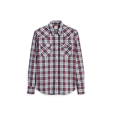 Levi's Barstow Shirt - Bodhran Crimson
