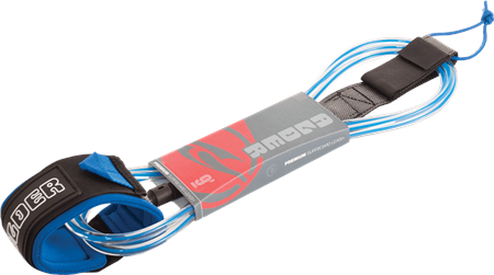 Alder 7' Surf Leash - Blue  - Click to view a larger image