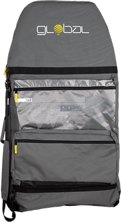 Alder Global S3 Bodyboard Bag - Grey  - Click to view a larger image