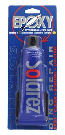 C-Skins Solarez 2oz Epoxy UV Cure Repair Putty  - Click to view a larger image