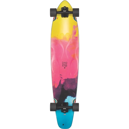 Globe Byron Bay Skateboard - Clear Flame