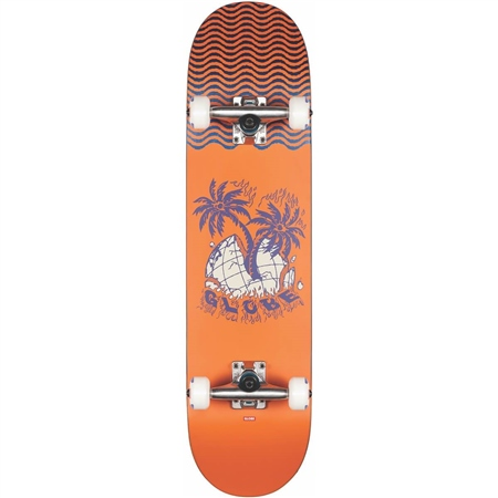 Globe G1 Overgrown Skateboard - Orange  - Click to view a larger image