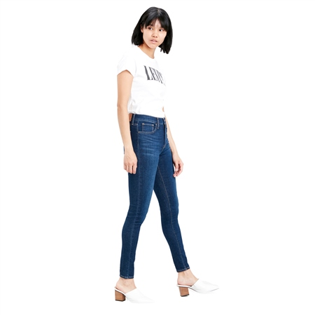 Levi's 720™ High Rise Super Skinny Jeans - Indigo Daze  - Click to view a larger image