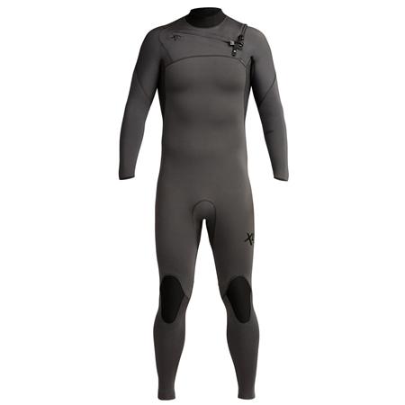 Xcel Comp 4/3mm Chest Zip Wetsuit - Jet Black (2020)  - Click to view a larger image