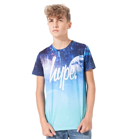 Hype Space Fade T-Shirt - Blue Space