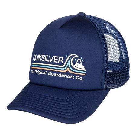Quiksilver Standards Trucker Cap - Navy Blazer