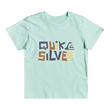 Quiksilver Bigger Picture T-Shirt - Beach Glass  - Click to view a larger image