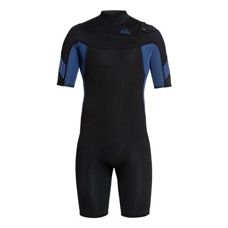 Quiksilver Syncro Shorty Wetsuit - Black & Blue (2020)