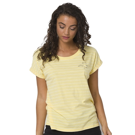 Animal Drift Circles T-Shirt - Pineapple Yellow