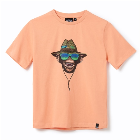 Animal Hang Loose Toddlers T-Shirt - Coral Sands Orange  - Click to view a larger image