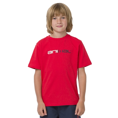 Animal Sketchy Boys T-Shirt - Watermelon Red