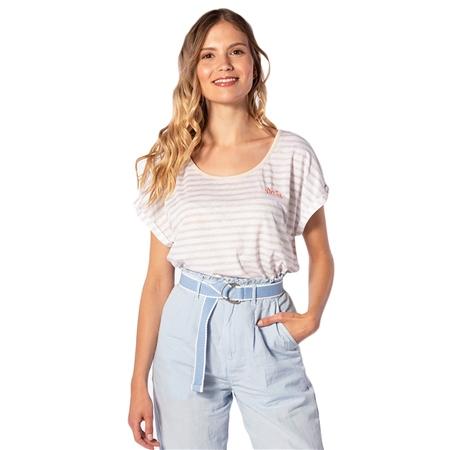 Rip Curl Line Up T-Shirt - Moonbeam