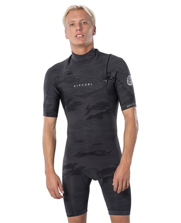 Rip Curl Dawn Patrol Shorty Wetsuit - Camo (2020)  - Click to view a larger image