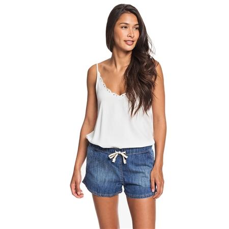 Roxy Go To The Beach Shorts - Medium Blue