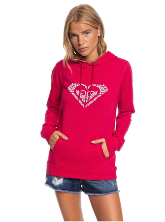 Roxy Shine Your Light Hoody - Cerise  - Click to view a larger image