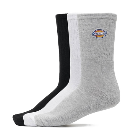 Dickies Valley Grove 3 Pack Socks - Assorted