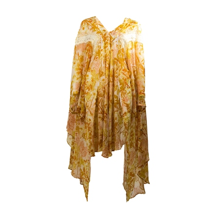 Free People Lost In Love Kimono - Honey Combo  - Click to view a larger image
