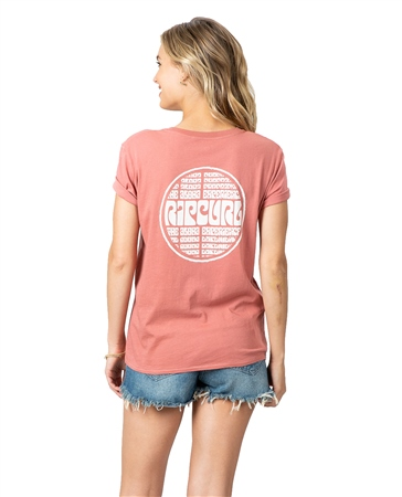 Rip Curl Aloha Experience Boy T-Shirt - Canrose  - Click to view a larger image