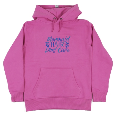 ACS Clothing Girls Mermaid Hoody - Pink  - Click to view a larger image