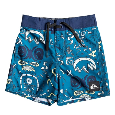 Quiksilver Mystery Bus Boardshort - Medieval  - Click to view a larger image
