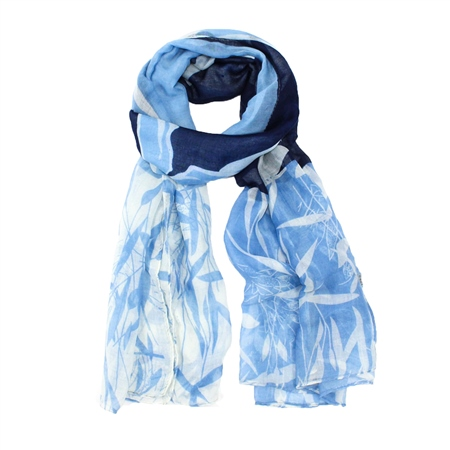 F & J Collection Tillie Scarf - Blue
