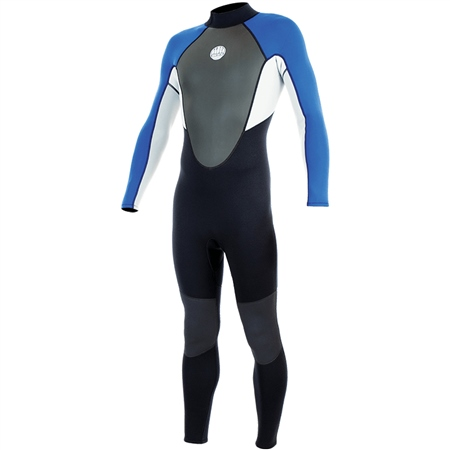 Alder Impact Back Zip 3/2mm Wetsuit - Royal (2020)  - Click to view a larger image