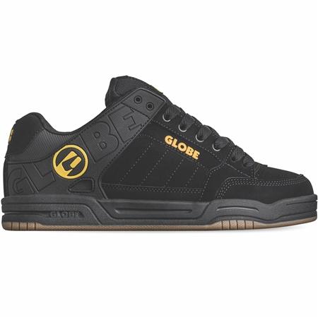 Globe Tilt Shoes - Black & Caramello