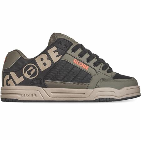 Globe Tilt Shoes - Dusty Olive & Black