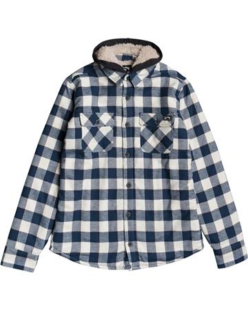 Billabong All Day Hooded Shirt - Birch