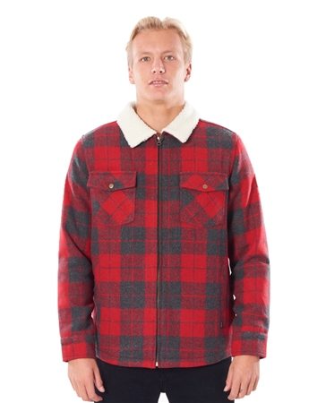 Rip Curl Logging Jacket - Bright Red