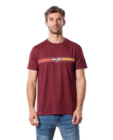 Rip Curl Mama Horizon T-Shirt - Maroon