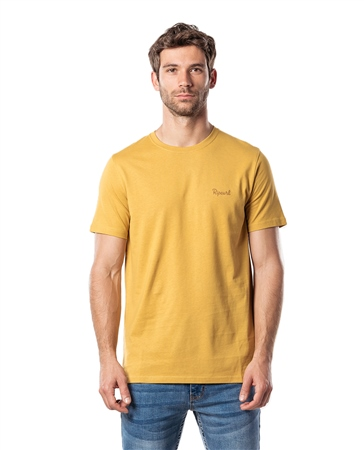 Rip Curl Saltwater Eco T-Shirt - Mustard