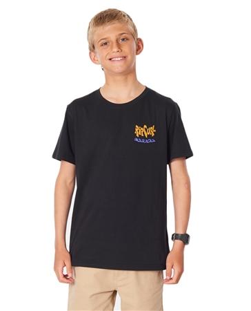 Rip Curl Salad Surfer T-Shirt - Black