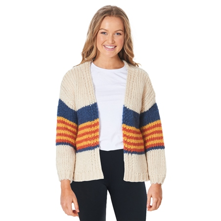 Rip Curl Golden Days Cardigan - Cream