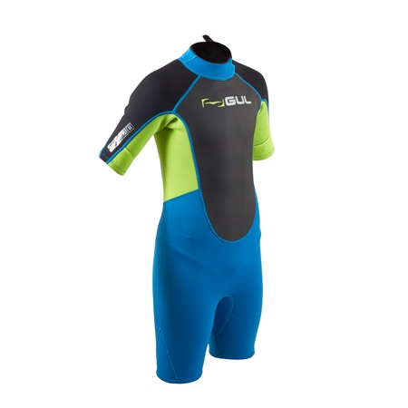 Gul Response Shorty Wetsuit (2020) - Zafer & Lime  - Click to view a larger image